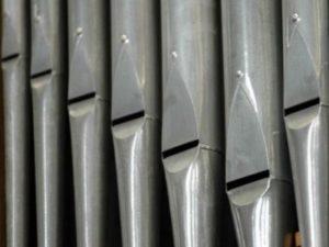 Les orgues de l'église