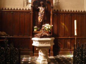 Read more about the article A propos du baptistère